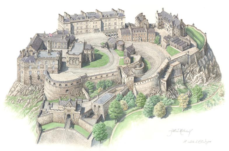 Edimburgo, Castello bd