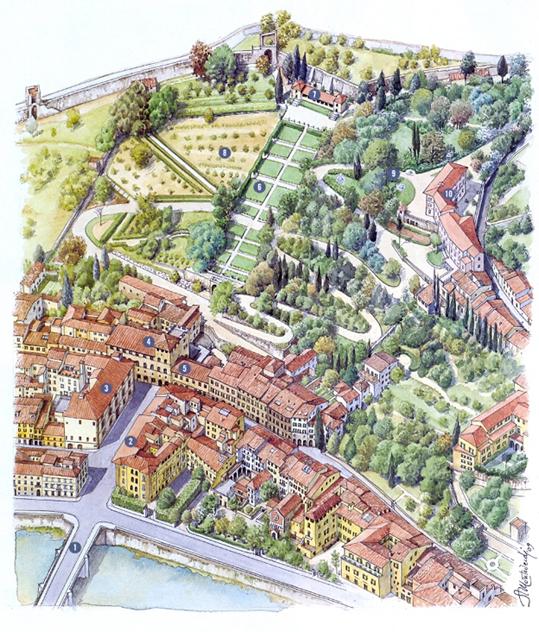 Firenze-Museo Bardini +Giardino e Villa bd