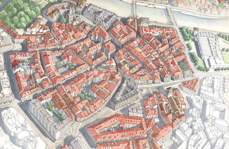 Grenoble, particolare