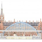 Londra St Pancras Station, bd