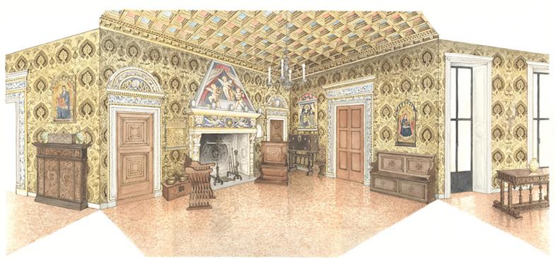 Milano, Palazzo Bagatti-Valsecchi, Sala Bevilacqua - bd
