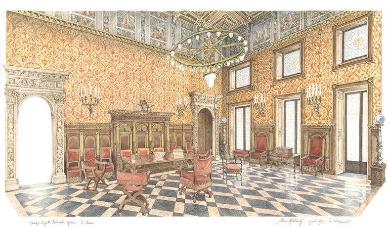 Milano, Palazzo Bagatti Valsecchi, il Salone - bd