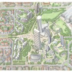 Milano,progetto Citylife - bd