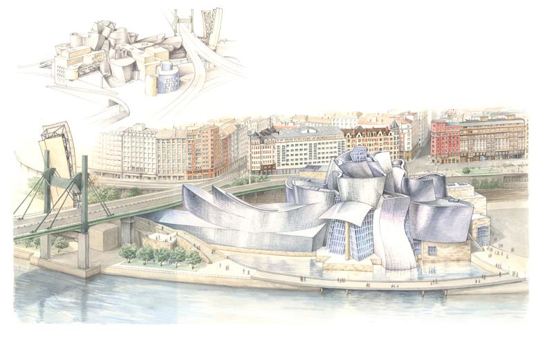 Bilbao, Guggenheim Museum - bd