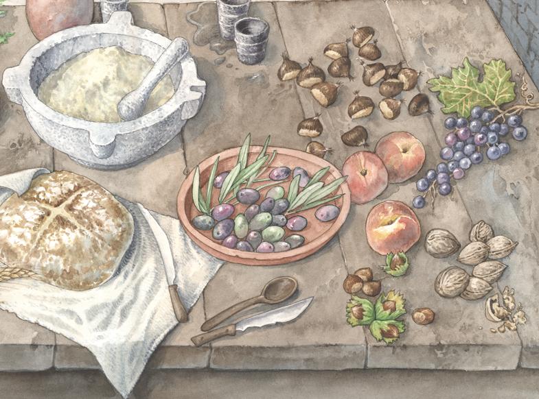 Cucina, particolare 1