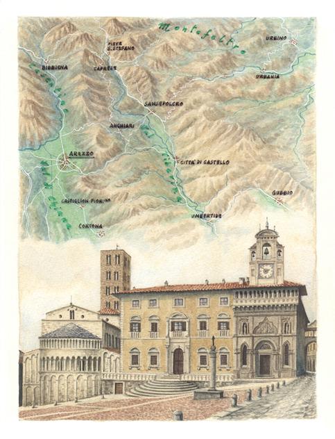Itinerario Arezzo