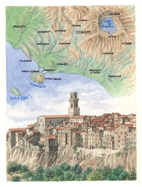 Itinerario Pitigliano