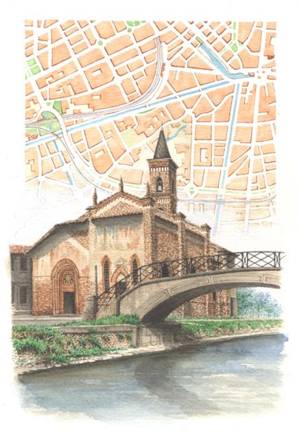 Milano naviglio S. Cristoforo (MI)