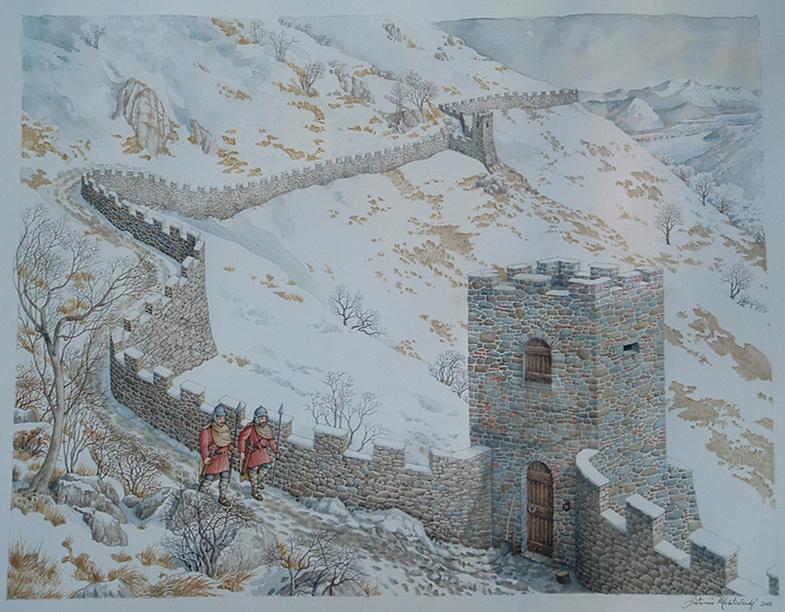 Piani Barra - fortificazioni, ricostruzione