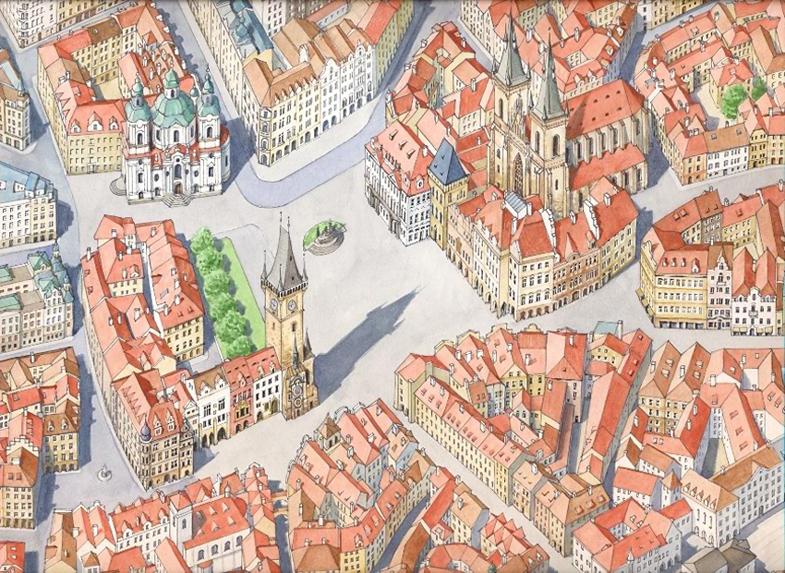 Praga Stare Mesto, particolare
