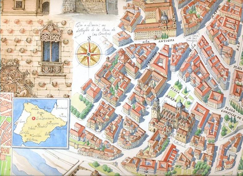 Salamanca, particolare