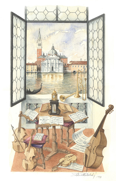 Venezia, Scuola Musica Barocca
