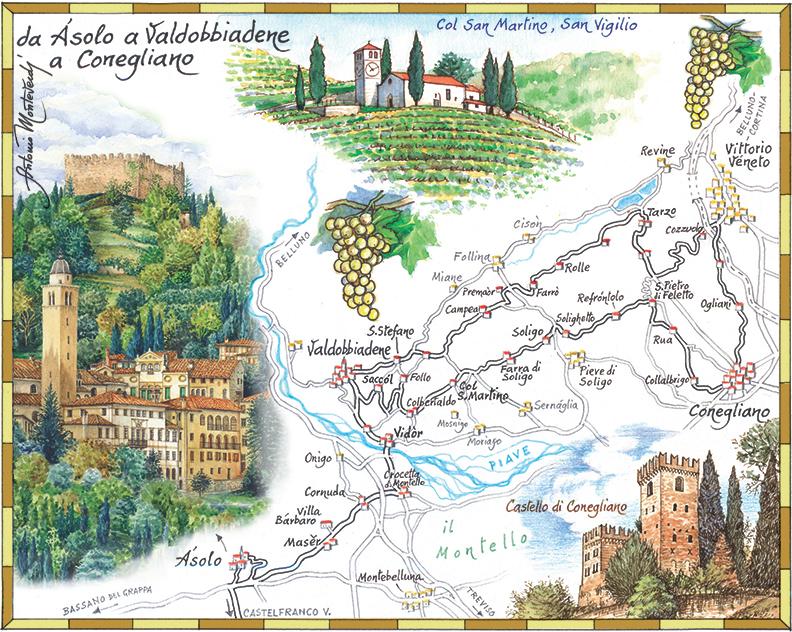 Asolo Valdobbiadene bd